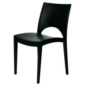 Jídelní židle PARIS antracitová