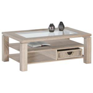 Konferenční stolek LAZY A4 dub sonoma