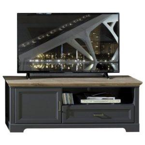 TV stolek JASMIN grafit/dub artisan