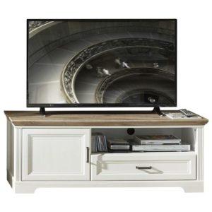 TV stolek JASMIN pínie světlá/dub artisan