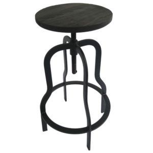 Barová židle ARBA 3 černá
