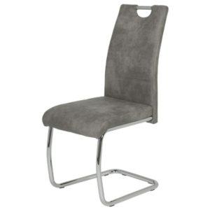 Jídelní židle FLORA II S šedá