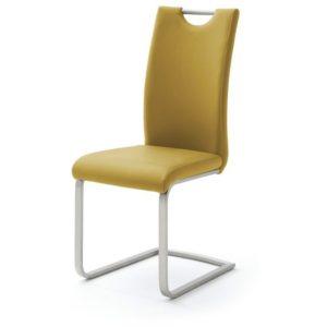 Jídelní židle PIPER žlutá