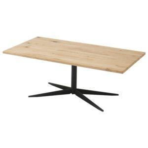 Konferenční stolek NOLAN dub/černá