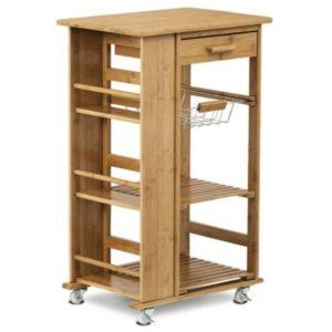 Kuchyňský vozík KIMI II bambus