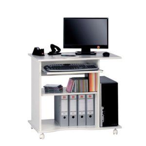 PC stůl CASH bílá
