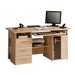 Pracovní stůl BECKETT dub sonoma