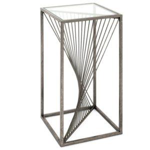 Přístavný stolek GERA bronz