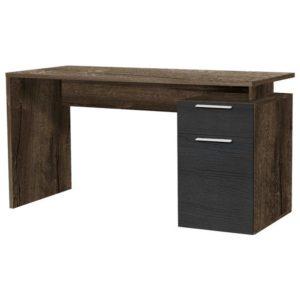 Psací stůl NET dub bahnitý/dub černý