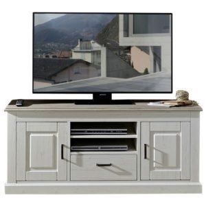 TV stolek LIMA 30 pinie/bílá