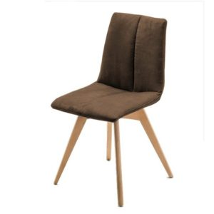 Jídelní židle SANNE hnědá