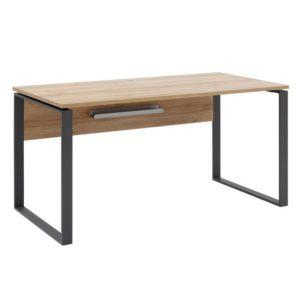 Psací stůl RYDER dub riviera/antracitová