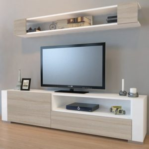 TV sestava ARYA bílá/cordoba