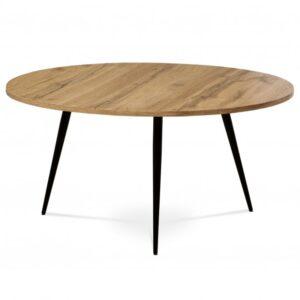Konferenční stolek BURGOS dub divoký/černá