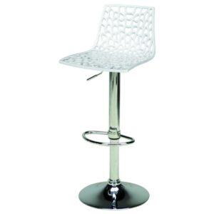 Barová židle SPIDER bílá