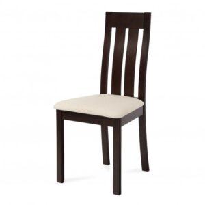 Jídelní židle BELA ořech/krémová