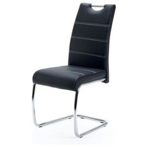 Jídelní židle FLORA S černá