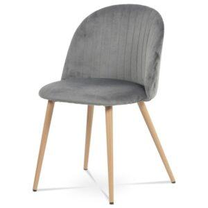 Jídelní židle KAISA dub/šedá