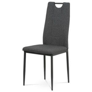 Jídelní židle LEILA šedá/antracitová