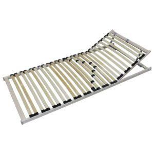 Polohovací lamelový rošt SINGLE H+T5 80x200 cm