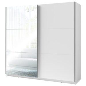 Šatní skříň ARSALA bílá