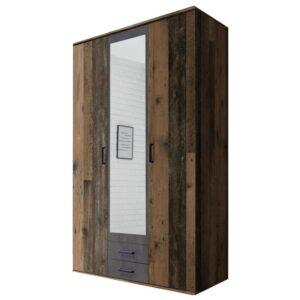 Šatní skříň OTMAR old style/beton