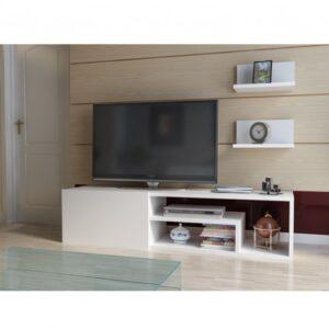 TV stěna ZEPLIN bílá