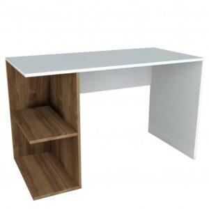 Psací stůl ELEGANCE pinie/bílá