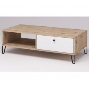 Konferenční stolek BOLLO 11 dub artisan/bílá matná